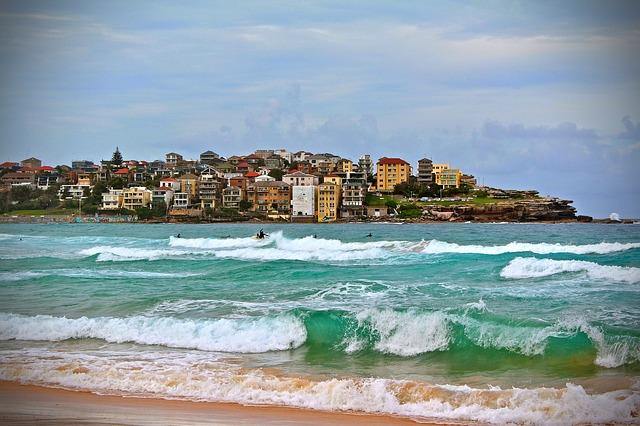Slavná pláž Bondi