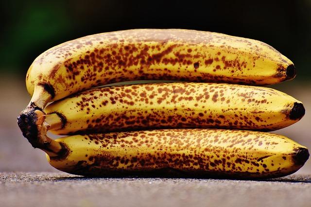 Okoralé banány