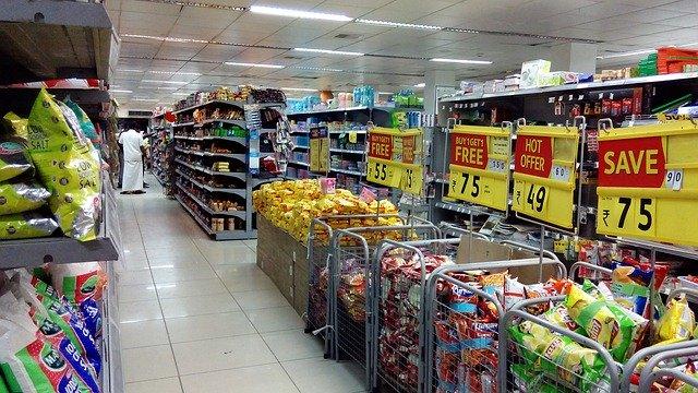 supermarket, slevy